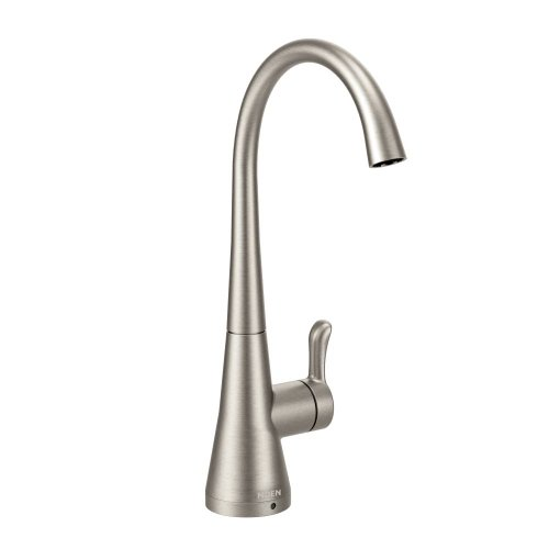 Moen S5520SRS Sip Transitional One-Handle High Arc Beverage Faucet, Spot Resist Stainless (Beverage Faucet Dispenser compare prices)