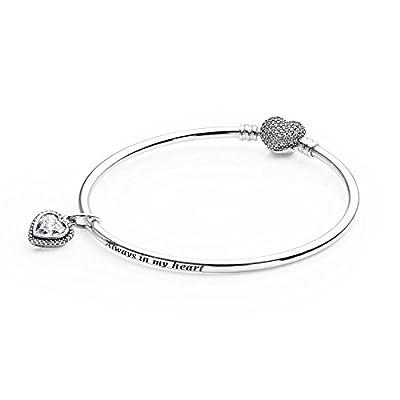 Pandora USB794117 Full of Heart Bangle Gift Set