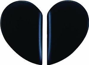 simoni racing dgl n paracolpi adesivi per portiera heart 2 pezzi colore nero auto. Black Bedroom Furniture Sets. Home Design Ideas