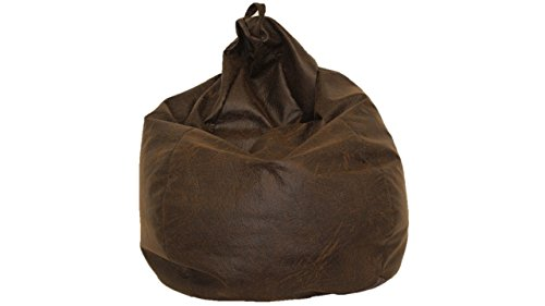 Brentwood Nobuk Bean Bag, Brown
