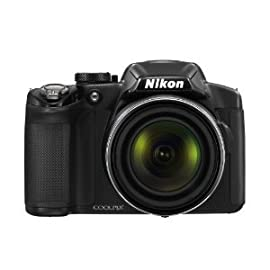 Nikon COOLPIX P510 16.1 MP CMOS Digital Camera with 42x Zoom NIKKOR ED Glass ...