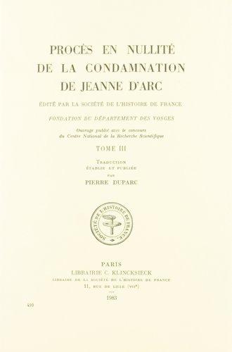 Procès en nullité de la condamnation de Jeanne d'Arc