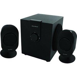 Gear Head SP3500ACB 2.1 Speaker System - 12 W RMS. 2.1 SPEAKER SYSTEM SPKR. 24 W PMPO