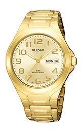 Pulsar by Seiko Three-Hand Gold-tone Men's watch #PXN152