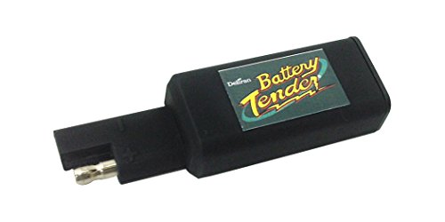 Battery Tender 081-0158 Black Quick Disconnect Plug with USB Charger