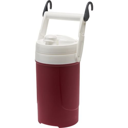 Maroon Igloo 1/2 Gallon Sport Beverage Cooler With Chain Links -- Bpa Free front-388274