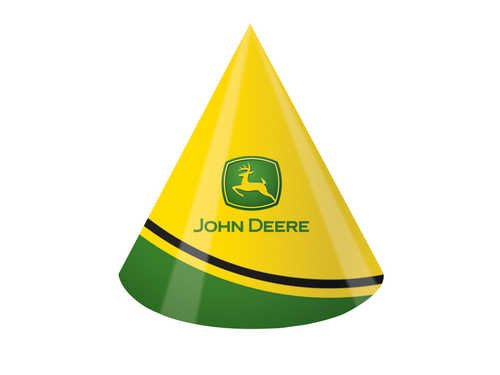 John Deere Birthday Party Hats, 8 Count