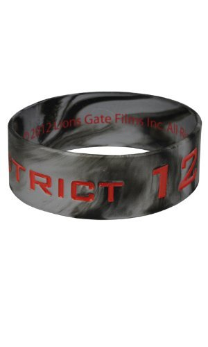 The Hunger Games Movie Rubber Bracelet District 12 Tribute - 1