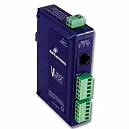B&B Electronics VESR902T Industrial Ethernet Serial Server - Device server - 2 ports - 10Mb LAN, 100Mb LAN, RS-232, RS-422, RS-485 - rail mountable