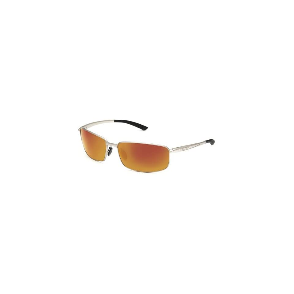 77014b34050ff Bolle Benton Sunglasses (Polarized TNS Fire, Satin Silver) on PopScreen