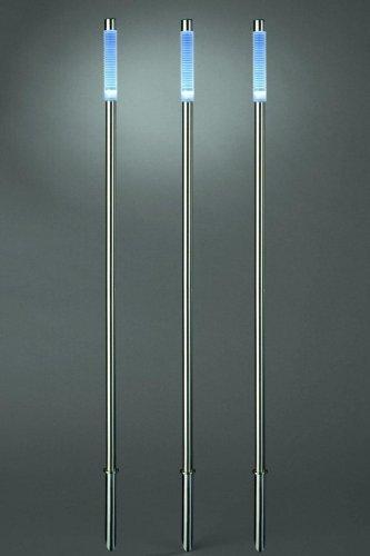 LED Edelstahl Leuchtstäbe Standleuchte Leuchtstab SM