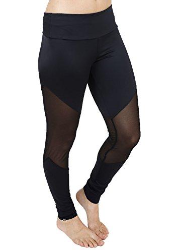 Onzie Women's Track Legging Black (Small/Medium)