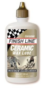 Finish Line Ceramic Wax Synthetic Oil / Flouropolymer Lubricant 4oz Drip 2 Pack !
