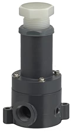 plast o matic rvdt series pvc relief valve for ultra pure water and concentrated etchants 5. Black Bedroom Furniture Sets. Home Design Ideas