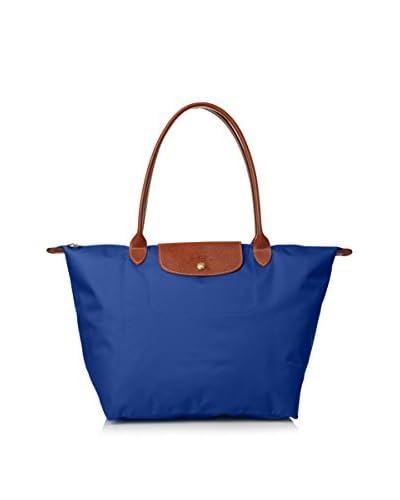 Longchamp Women's Le Pliage Shoulder Bag, Azzuro