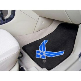 Air Force Carpeted Car Mats front-205504
