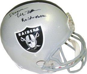 Darren McFadden Autographed Hand Signed Oakland Raiders Helmet Raider Nation-... by Hall of Fame Memorabilia