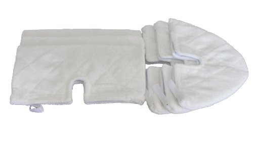 Generic Replacement Pads Suitable For Shark Pocket Steam Mop S3550 (Pack Of 6) back-409756