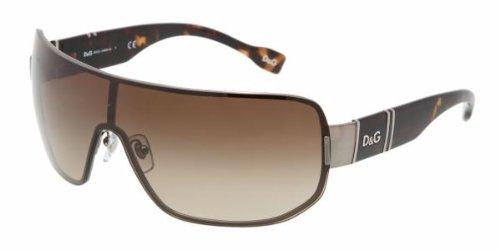 D&G DD6060 090/13 Gunmetal Sunglasses In Metal