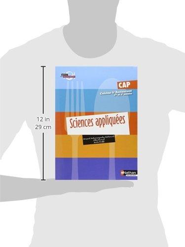 Sciences appliquees cap cuisine et restaurant 1re et 2e for Sciences appliquees cap cuisine