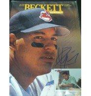 Signed Ramirez, Manny (Cleveland Indians) Beckett Magazine 7/1994 autographed