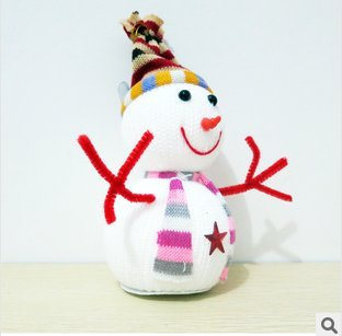 Christmas gift christmas ornaments Snowman X'mas Tree Hanging Dolls festive Christmas items
