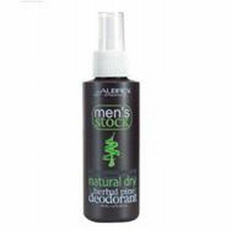 Aubrey Organics - Men's Stock Deodorant Herbal Pine, 4 fl oz spray