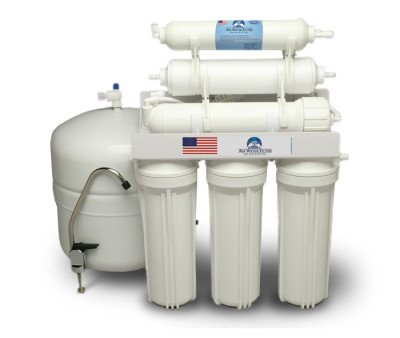 6 Stage Alkaline Reverse Osmosis Water Filter System 50 GPD (Nitrate Water Filter compare prices)