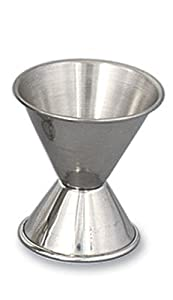 Alegacy 1290 Double Jigger, 1 2-Ounce 1-Ounce, Stainless Steel by Alegacy