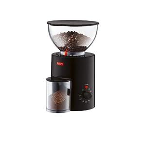 Bodum Antigua Electric Burr Grinder (Black)