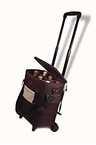 Rugged and Durable Wine Bottle Tote - Six Bottle Wine Tote