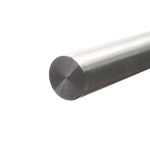 Hahaemall 10ft modern design heavy stainless steel double for Sliding barn door track and rollers
