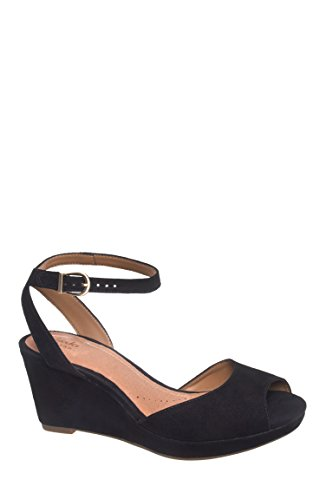 Palmdale Dasha Mid Wedge Ankle Strap Sandal