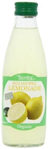 Sunita Organic Still Lemonade 250 ml (Pack of 12)