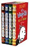 Diary of a Wimpy Kid Boxset: Diary of a Wimpy Kid / Rodrick Rules / The Last Straw / Dog Days Jeff Kinney
