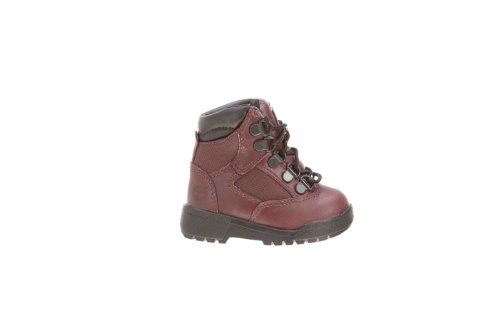 Timberland Big Kids 6 Inch Leather And Fabric (43823), 4 M front-932302