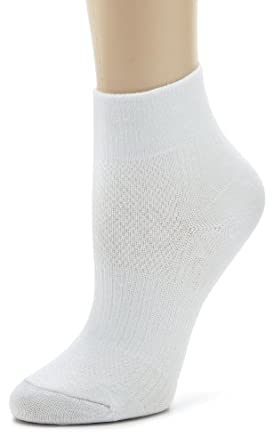 Wrightsock Ladies Coolmesh Ii Qtr 3 Pack Athletic Socks by Wrightsock