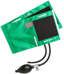 Cheap ADCUFF Inflation System, Adult, Teal (865-11ATL)