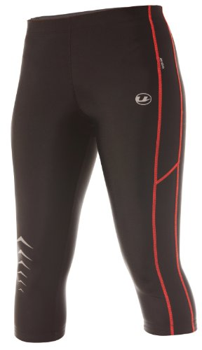 Ultrasport Women's Running Pants Capri with Quick-Dry-Function