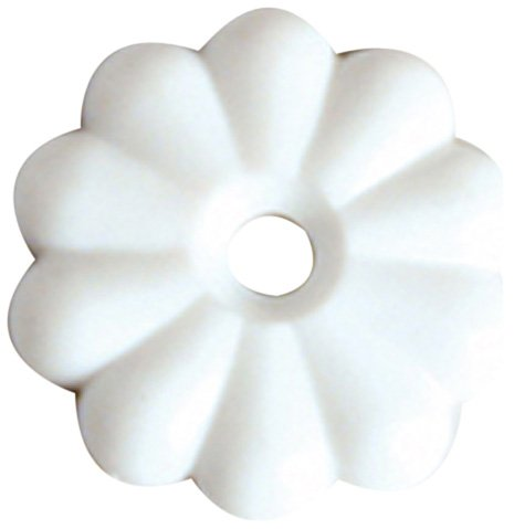 Rv Designer H613 White Rosettes Washer, (Pack Of 14) back-51039