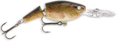 Rapala Jointed Shad Rap 07 Fishing Lure 275-inch Walleye by Rapala