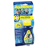 2) AQUACHEK Yellow Swimming Pool Spa Chlorine 4 in 1 Test Strips Aquacheck 50pk