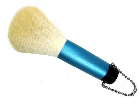 洗顔ブラシ 2ー3 シルバーブルー PBT抗菌剤入り 熊野筆 宮尾産業化粧筆 メイクブラシ MPシリーズ