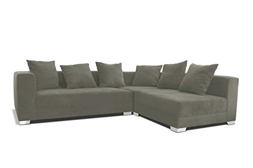 Decenni Right Arm Chaise Facing Giocare Modular Sectional Mineral
