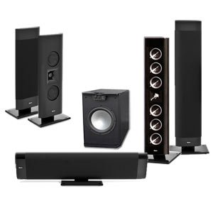 Klipsch Gallery G-28 5.1 Home Theater System-Free 650 Watt Sub