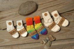 Maggies Organics Toddler Tye Dye Socks front-1059370