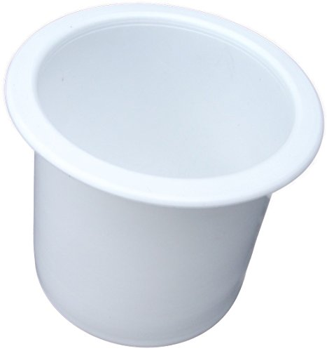 Plastic 2 7/8 White Cup Holder