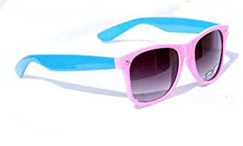Neon Two Tone wayfarer sunglasses