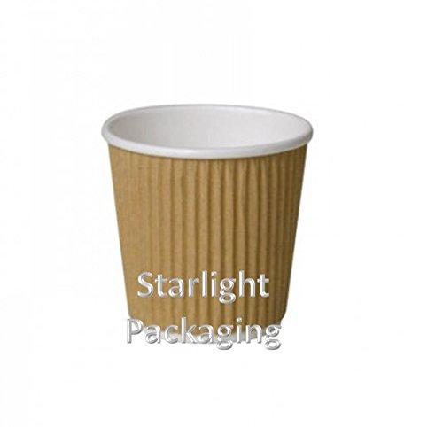 kraft-isolierte-pappbecher-3-lagig-geriffelt-118-ml-fuer-kaffee-tee-espresso-und-heisse-getraenke