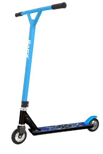 Razor Pro III Stunt Scooter - (Black/Blue, 110mm)